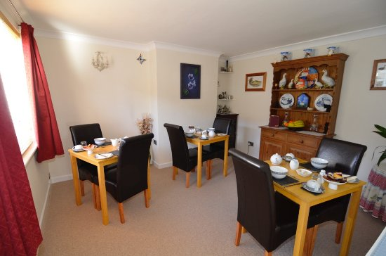 Lanreath, UK: Breakfast room
