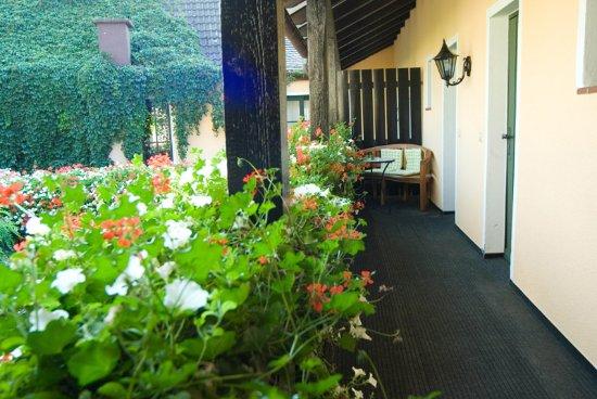 Unser Gartenrestaurant - Bild von Landhaus Alte Scheune ...