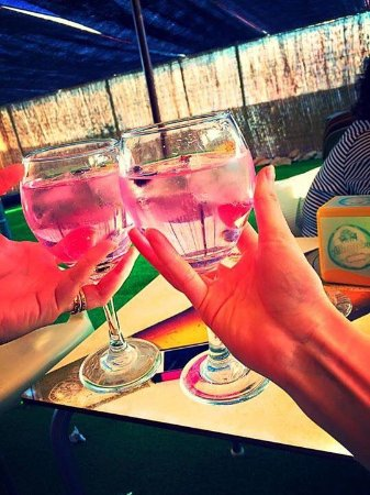 Zujar, Spagna: GIN TONICS!!