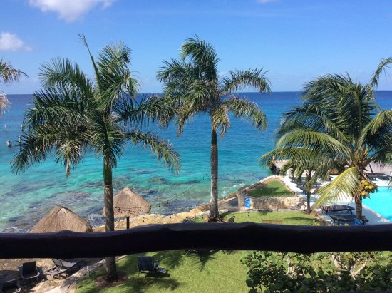 Blue Angel Resort: View from room 302