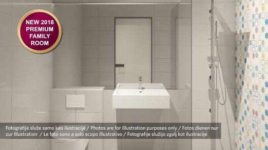 Moscenicka Draga, Croatia: Bathroom