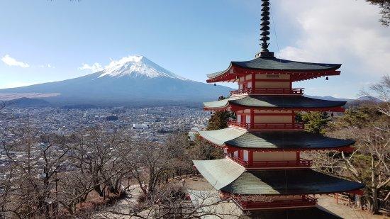 Fuji Sengen Jinja Shrine: A view worth the hike