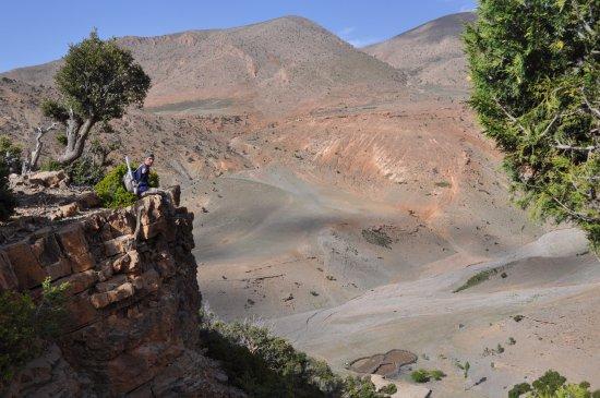 Midelt, Maroko: gorges de jaafar