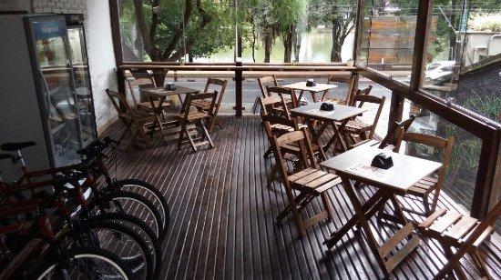 ed15447a1cb Natureza em seu resplendor em frente o Da Orla Bike Café. - Photo de ...