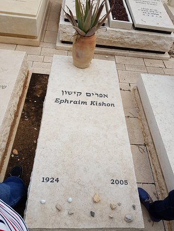 The Old Cemetery : Ephraim Kishon