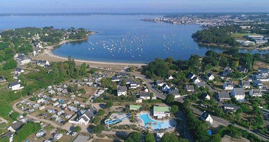 Le Cabellou Plage : Camping Concarneau en bord de mer