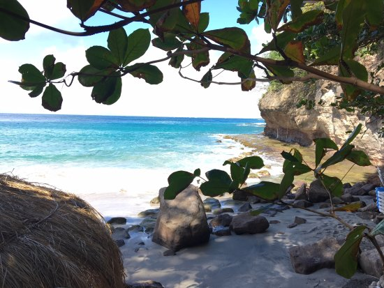 Cap Estate, Sta. Lucía: Romantic Beach