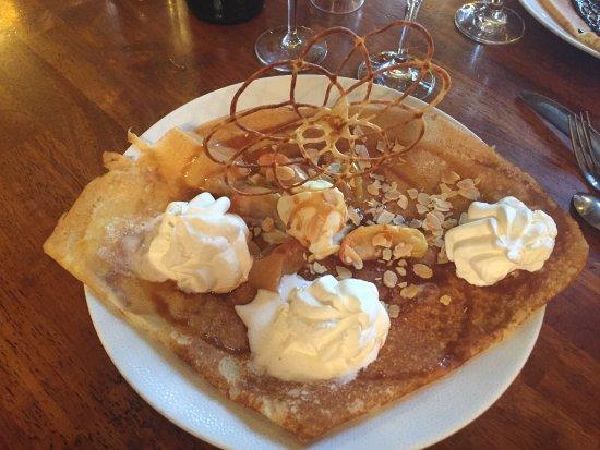 Saint-Ave, França: Dessert excellent