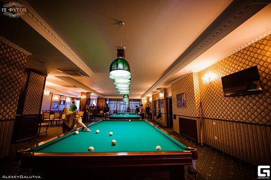 """Billiard Club """"12 feet"""""""