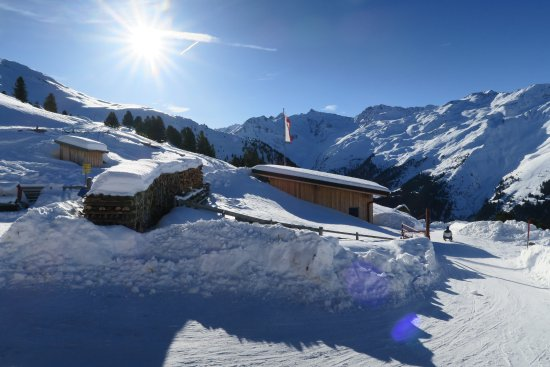 Gries im Sellrain, Austria: Alm