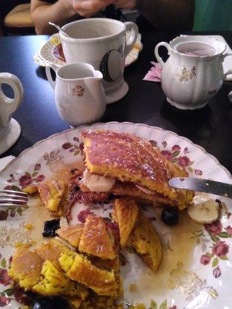 Coromandel: copieux pancakes