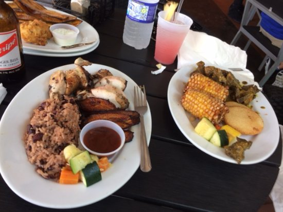 Spice Kitchen and Bar: Both Entrees