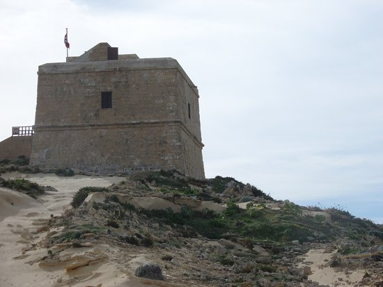 Dwejra Bay: Dwerja Tower