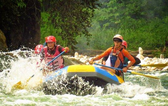 سومطرة, إندونيسيا: Ketambe rafting with wisma cinta alam team