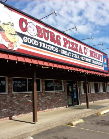 Coburg Pizza Company Centennial: Good Friends, Great Pizza, Gourmet Imagination!