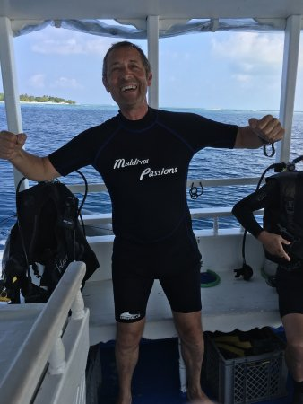 Maldives Passions: Du matériel au top, que du bonheur.