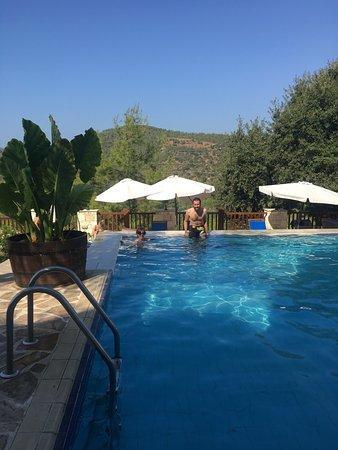 Lysos, Zypern: pool!