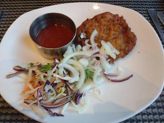 Bukharah: Onion bhaji starter