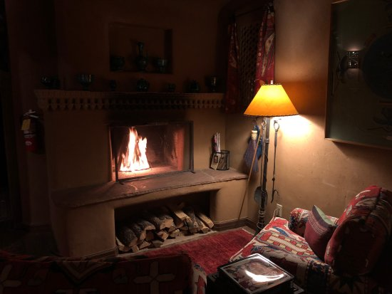 Inn of the Five Graces: IFG Fireplace 2