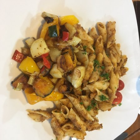 Benneydale, New Zealand: Lovely vegan pasta dish.