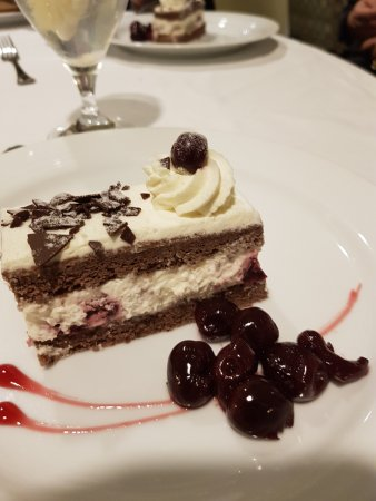 Epic Black Forest Cake Kirsch Glazed Cherries