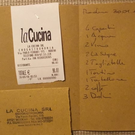 photo0.jpg - Picture of La Cucina, Modena - TripAdvisor