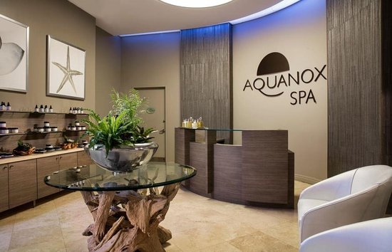 Aquanox Spa at the Trump International Beach Resort