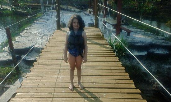 Vilhena: Ponte de madeira