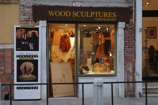 Wood Sculptures by Loris Marazzi