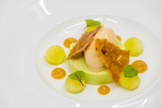 Orangery Restaurant: Apple panna cotta