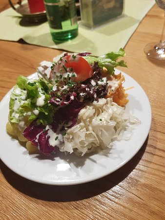 Forstau, Austria: side salad