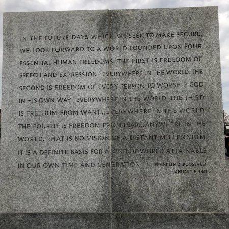 Franklin D. Roosevelt Four Freedoms Park: photo1.jpg