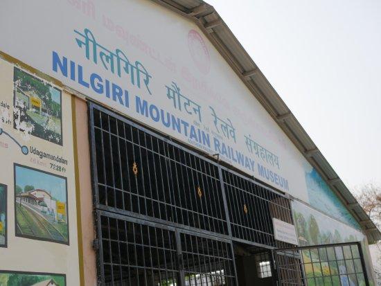 Mettupalayam, Indien: entrée du musée