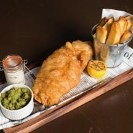 Boat of Garten, UK: Fish and Chips Night on Tuesday