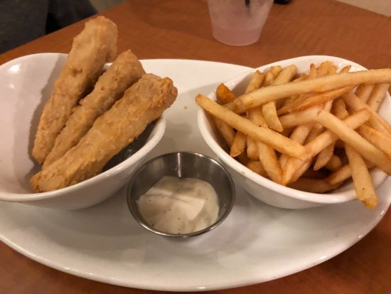Native Chicken Strips Picture Of Native Foods Los Angeles