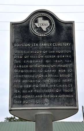 Independence, Teksas: Historical Marker for grave of Sam Houston's wife