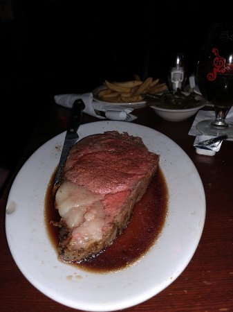 Albion, MI: Very good prime rib special