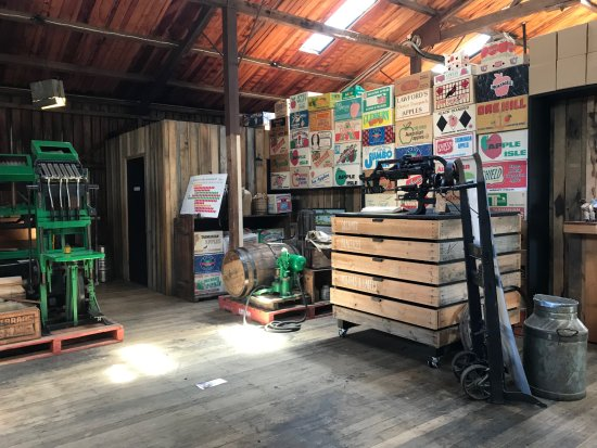 Willie Smith's Apple Shed: 店内の様子