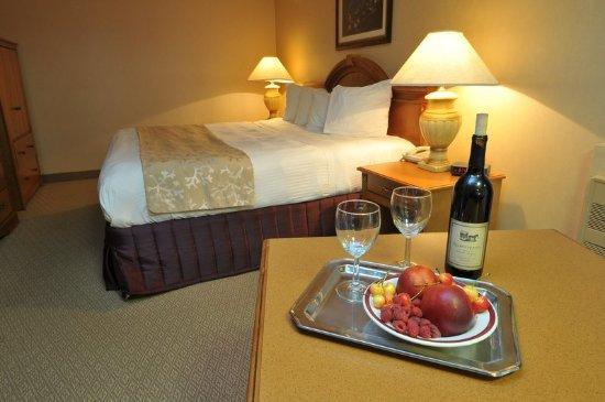 Shilo Inns Seaside Oceanfront : Guest room