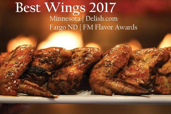 Doolittles Woodfire Grill : Best Wings Minnesota 2017 - Rotisserie Buffalo Wings