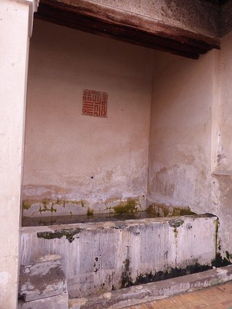 Marrakech, Morocco: 泉。ちょっとがっかり