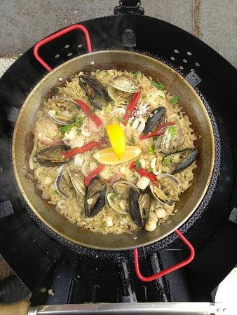 Palisade, CO: House specialty: authentic Spanish paella