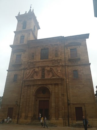 Parroquia de San Isidoro El Real : the facade is simple and beautiful, but what lies within will 'take your breath away'