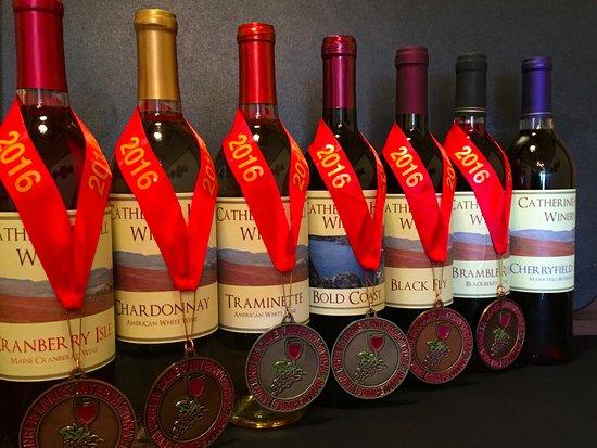 Cherryfield, ME : Enjoy award winning grape and berry wines.