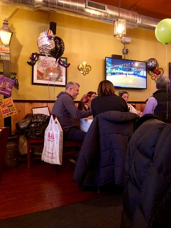 Highwood, IL: Interior of the restaurant.