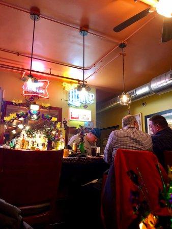 Highwood, IL: Bar area.