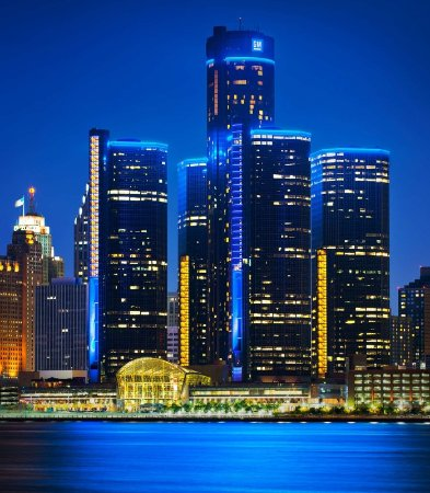 Detroit Marriott at the Renaissance Center: Find our hotel soaring over the Detroit River