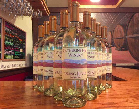 Cherryfield, ME: Crisp, clean and refreshing white wines...