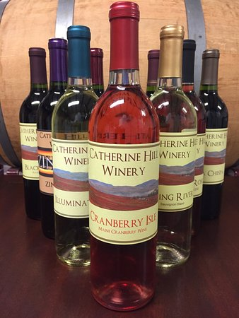 Cherryfield, ME: Intensely flavorful berry wines including Blueberry, Cranberry, Blackberry and Raspberry!