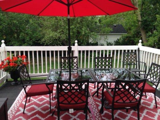 Casa Blanca Boutique Bed & Breakfast: Outdoor patio area
